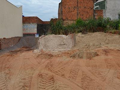 areia pedra construção