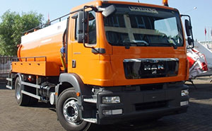 caminhão limpeza