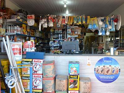 loja de materiais para construção