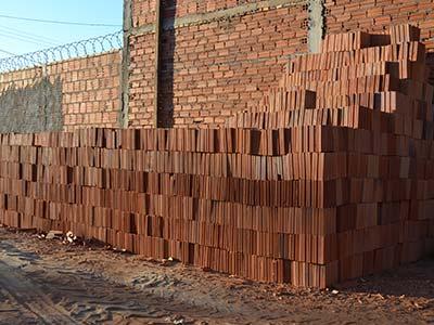 tijolos materiais construção