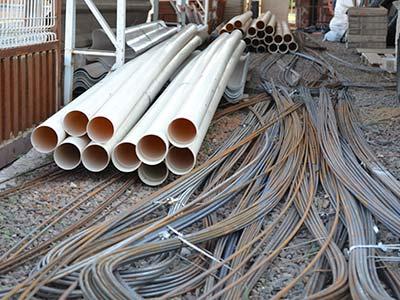 tubos canos vergalhões