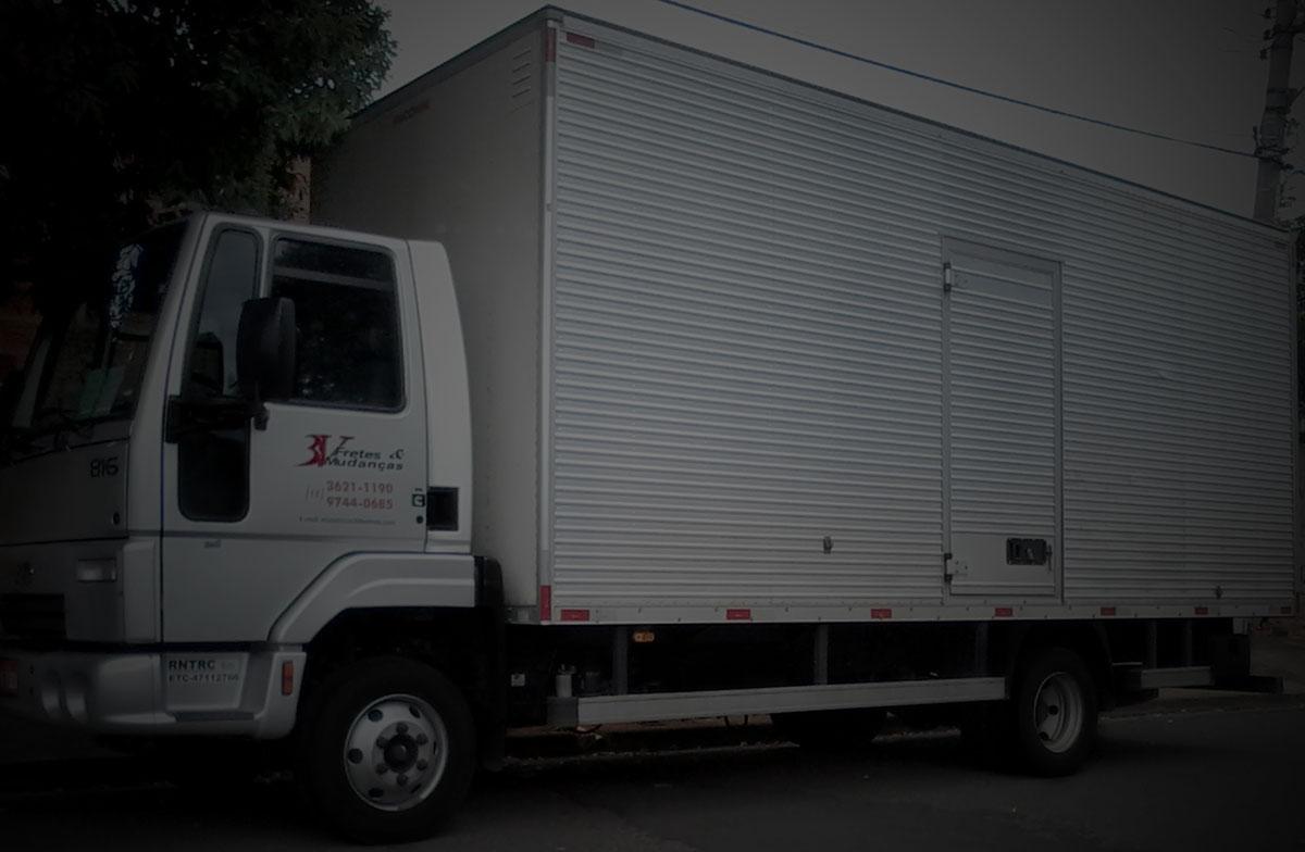 3v fretes mudanças caminhão