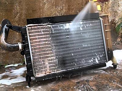 Limpeza radiador