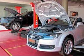 Oficina carro Audi
