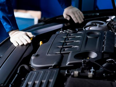 Conserto motor do carro