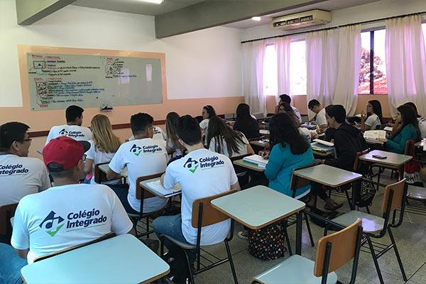 aula colégio integrado