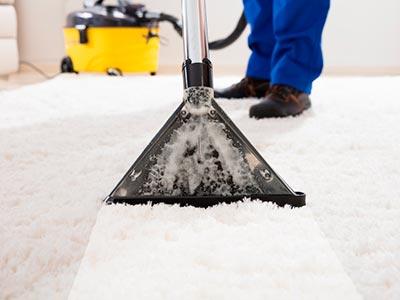 Lavagem de carpetes