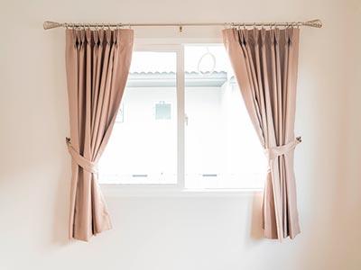 Higienização de cortinas