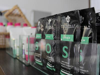Produtos Brussels Cosmetics