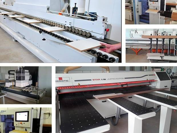 Fabricação de móveis planejados