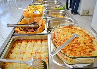 Almoço self-service