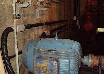 Manutenção em bombas hidráulicas