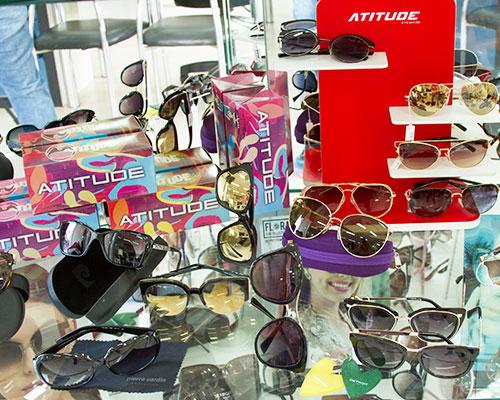 óculos de sol - atitude