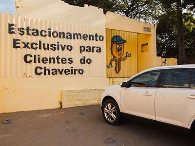 Estacionamento para clientes