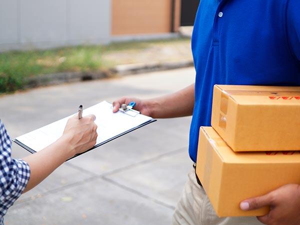 Delivery de encomendas