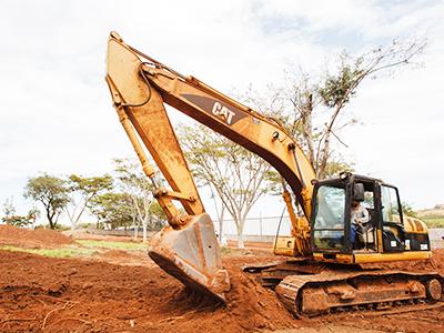 Abertura de Baldrames e Serviços de Escavações