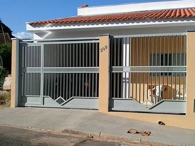 Fabricação de grades e portões