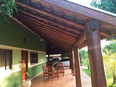 estrutura de madeira para telhados