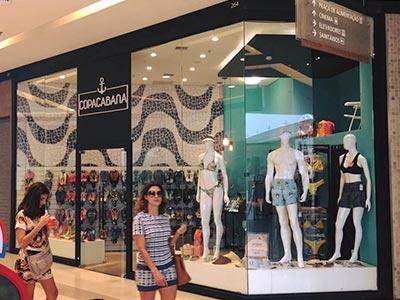 Projeto de lojas em shoppings