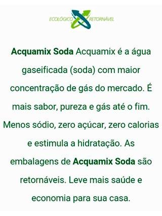 Acquamix Soda