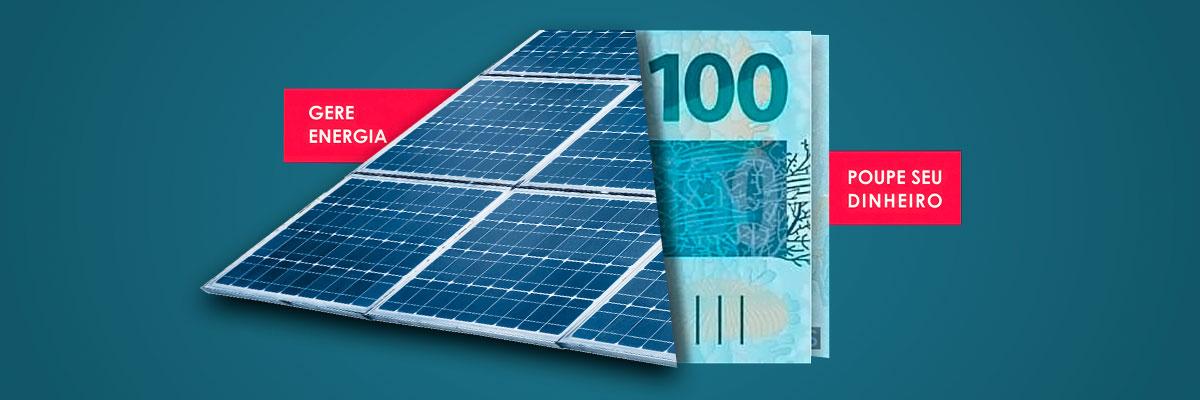 Geração de energia fotovoltaica