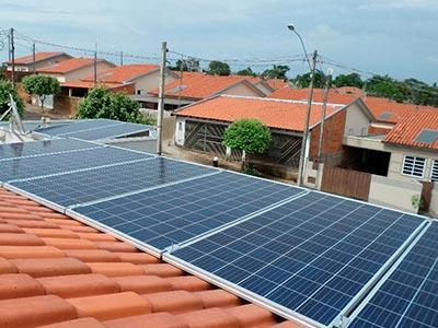Células de geração de energia fotovoltaica