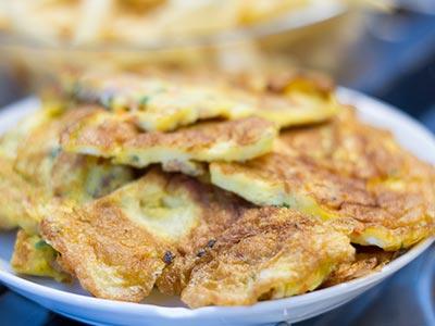 Omelete delciosa