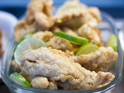 Pratos com peixe