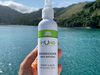 Higienizador 100% natural