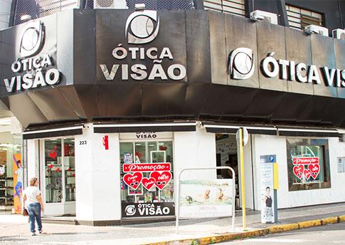 707d156ed10b8 Ótica Visão em Araçatuba - SP   Óticas