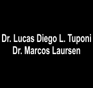 Dr Lucas Diego Laursen Tuponi e Marcos Laursen